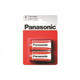 Panasonic Battery C, Pack of 2 Carded
