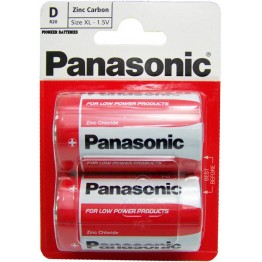 Panasonic Battery D, Pack of 2 Carded