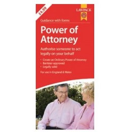 Law Pack Power of Attorney, England & Wales | RRP 6.99