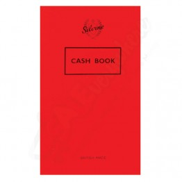 Silvine Cash Book 158mm x 99mm, 72 Pages