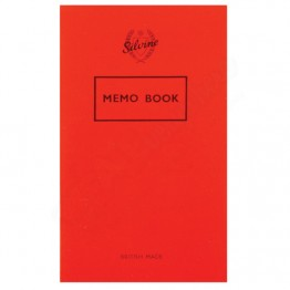 Silvine Memo Book 158mm x 99mm, 72 Pages