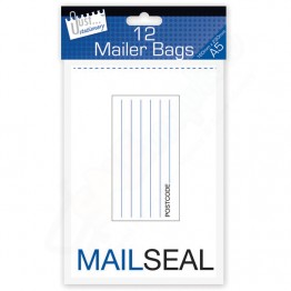 Mail Seal Poly Mailer Bags A5, Pack of 12