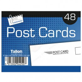 JS Post Cards White, Pack of 48