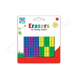 18 Novelty Eraser